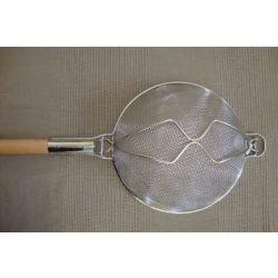 Fém fanyeles szűrő , átm: 30 cm