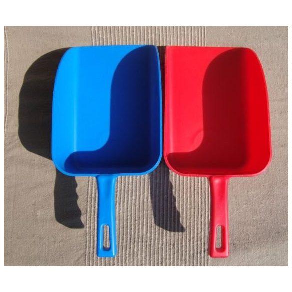 Lisztlapát, egyenes talpú színes műanyag
