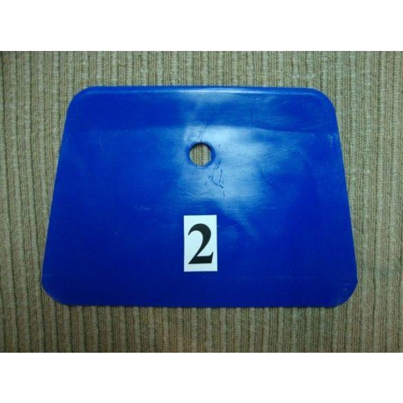 Habkártya, enyhén trapéz alakú