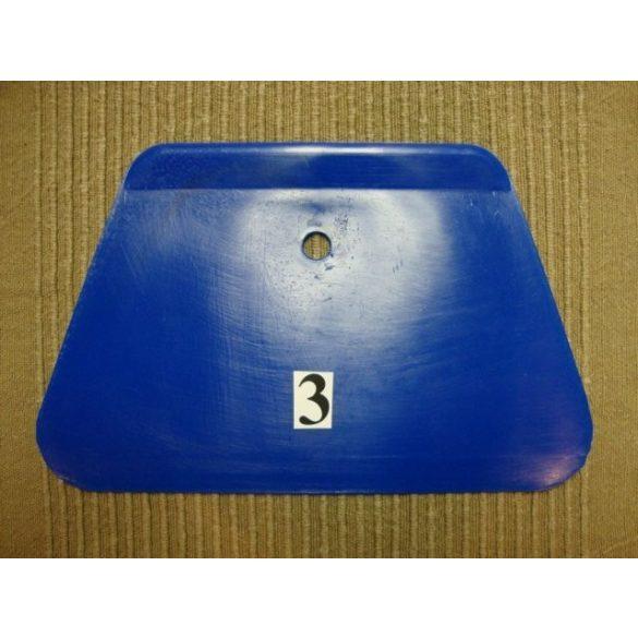 Habkártya, trapéz alakú