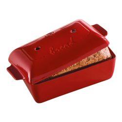 Emile Henry kenyérsütő edény 28x15x12 cm/1.8 L, Burgundy