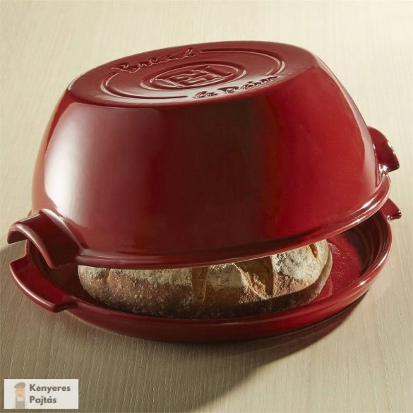 Emile Henry kenyérsütő forma Burgundy, 30 cm