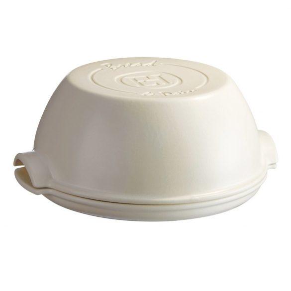 Emile Henry fehér  kenyérsütő forma