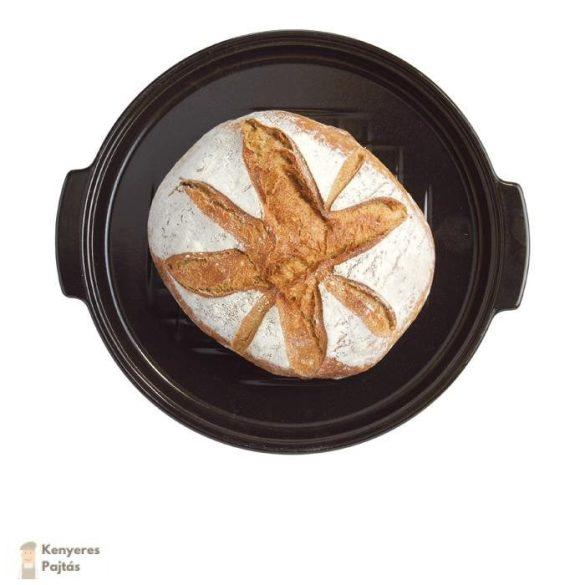 Emile Henry - 30 cm -es kenyérsütő forma -Charcoal